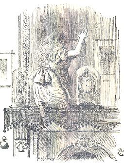 Tecalibri lewis carroll alice nel paese delle meraviglie attraverso lo specchio - Alice dietro lo specchio ...