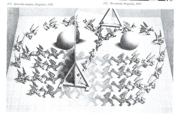 Tecalibri bruno ernst lo specchio magico di m c escher for Escher mostra catania
