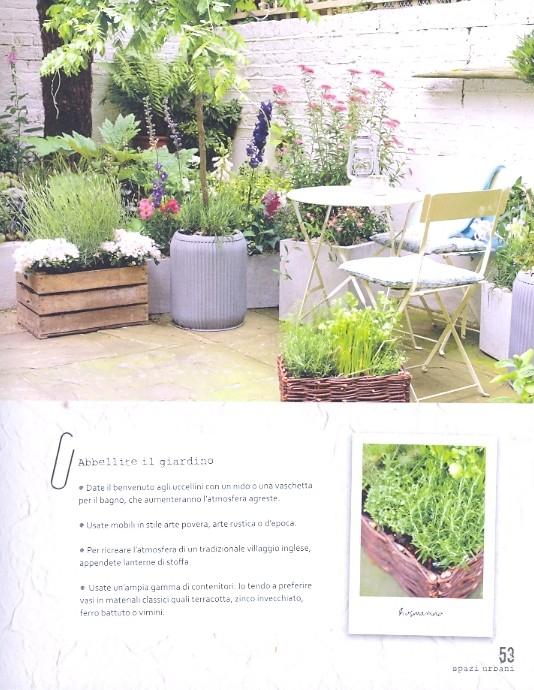 Tecalibri isabelle palmer un angolo verde sul terrazzo - Erba vera sul terrazzo ...